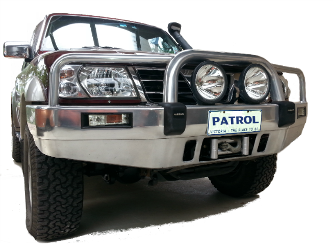 Nissan_Patrol_winch_mounting_plate