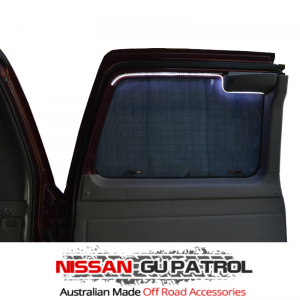 nissan patrol cargo barrier fitting instructions